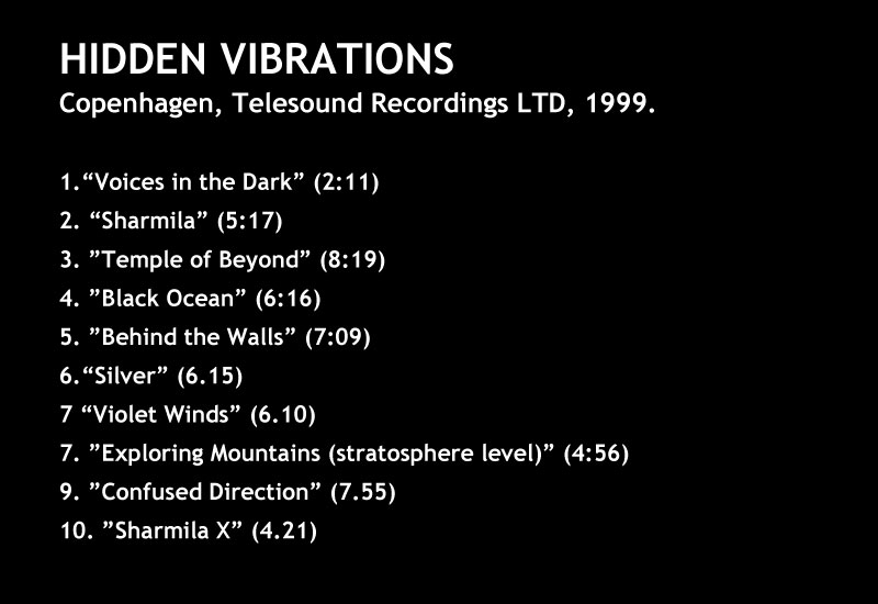 Hidden Vibrations