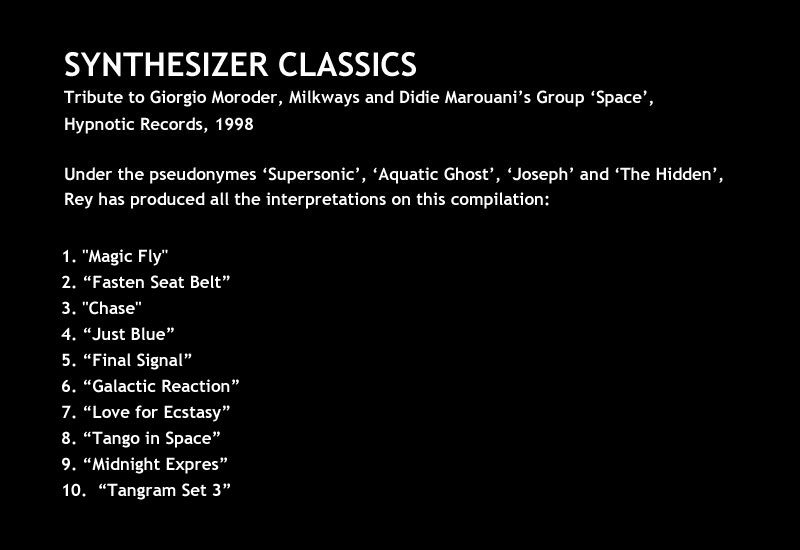 SYNTHESIZER CLASSICS